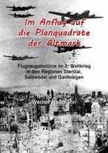 Im Anflug auf die Planquadrate der Altmark von Bernd Sternal