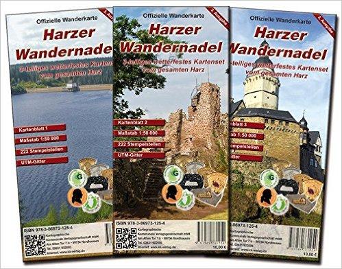 Wanderkartenset Harzer Wandernadel